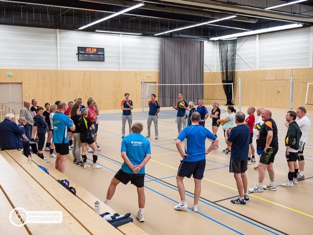 Volleybal Dalfsen Hands up clinic Landstede